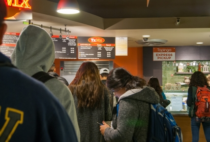 Mobile ordering app aids impacted campus services