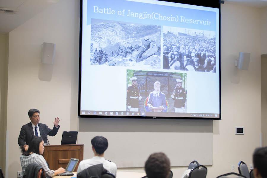 Deputy consul to Republic of Korea speaks at UC Davis