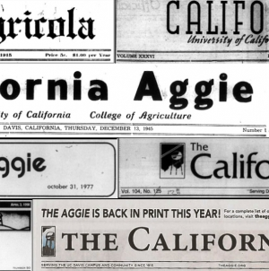 Welcome to The California Aggie