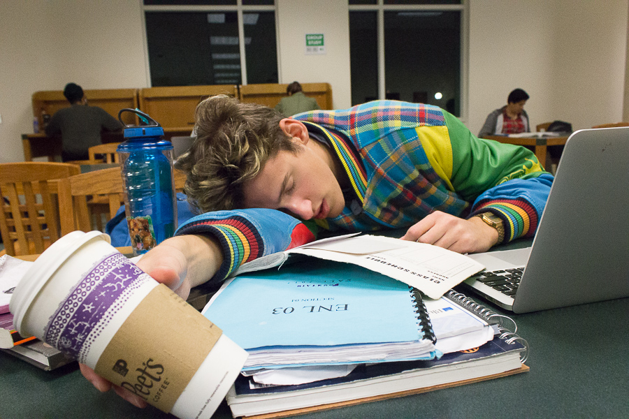 Humor: The proper etiquette behind an all-nighter at the library