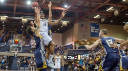 Men's basketball holds off Bear attack, sends Northern Colorado into hibernation