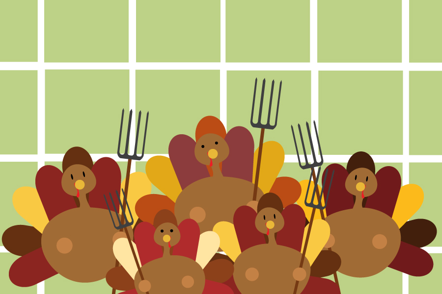 Humor: Turkey survivors of Thanksgiving regroup and plan for counterattack