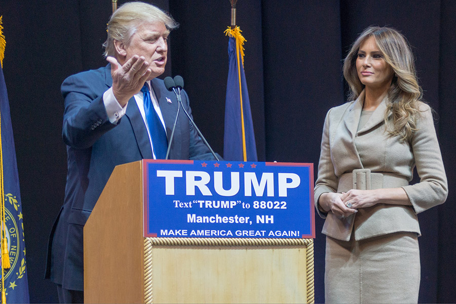 Humor: Trump's wall will never be as tall as the emotional barrier between him and Melania