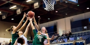 Women's basketball makes history with 7-0 opener