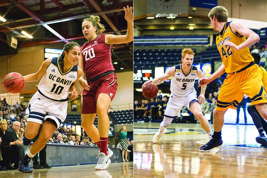 Aggie basketball enters conference with a bang