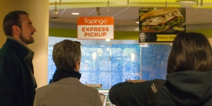 Tapingo's ties to private prison company Aramark