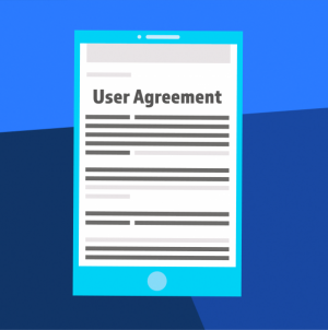 Did you read the user agreement?