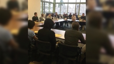 Students for a Democratic Society meets with chancellor to address food, housing insecurity, budget mismanagement, tuition hike
