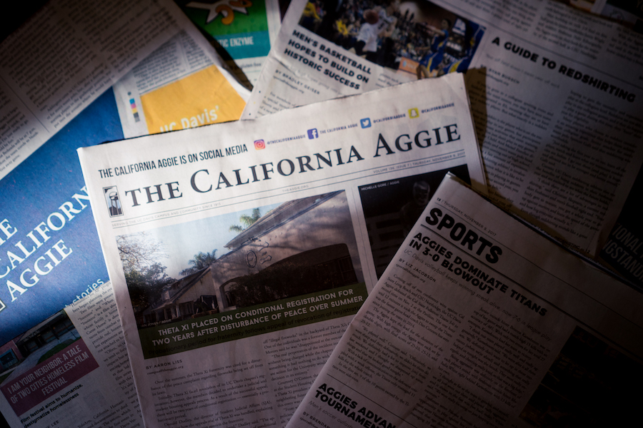 """Humor: """"The Aggie"""" found to be best newspaper at UC Davis"""
