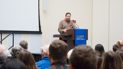 Journalist Todd Miller speaks about climate change, migration