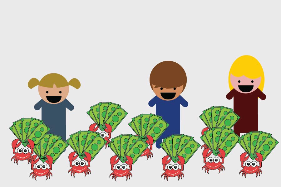 Krustaceans for Kids Crab Feed held on March 24