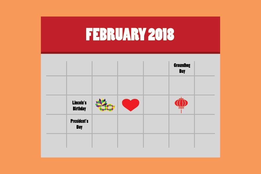 February 2018 Calendar Vintage : February event calendar the aggie