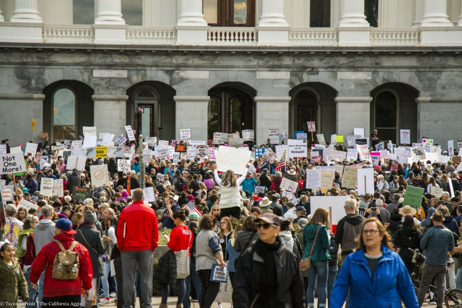 In Photos: March for Our Lives Sacramento