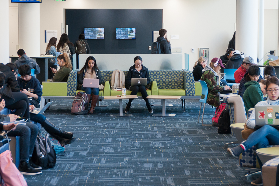Eight study spots for this coming finals season