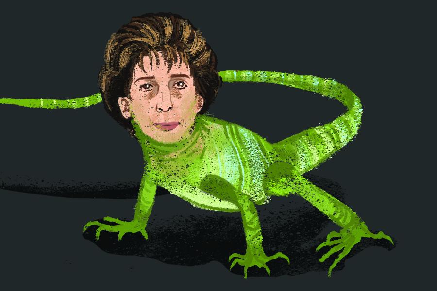 Humor: Linda Katehi or Lizard Katehi?