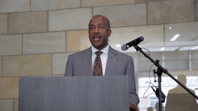 Chancellor Gary May delivers first State of the Campus address