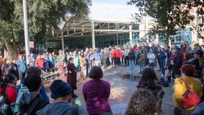 UC Davis participates in National School Walkout