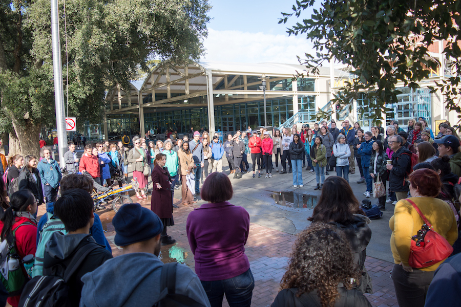 UC Davis participates in National School Walkout