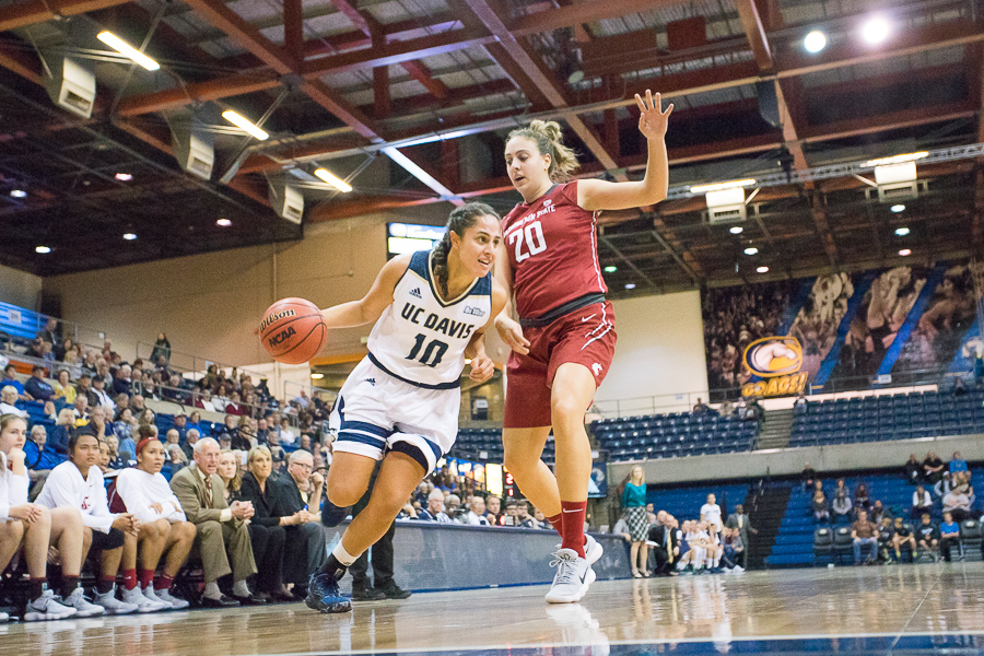 Women's basketball tears through competition in 2017-18 season