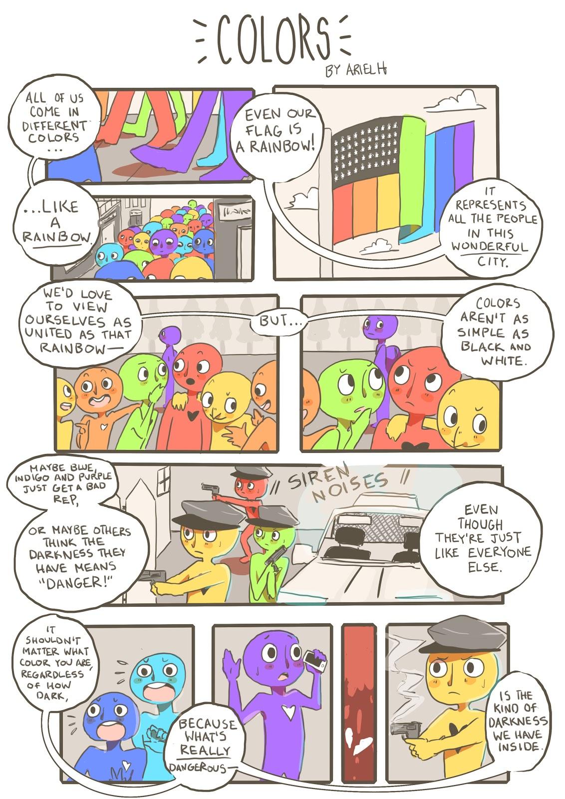Cartoon: Colors