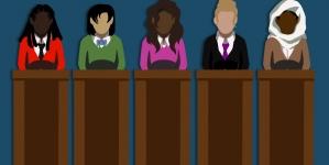 Women challenging underrepresentation in politics