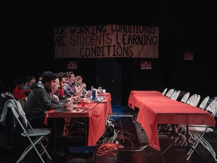 UAW, UCOP bargaining session