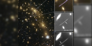 Using gravity to see stars further through space, time