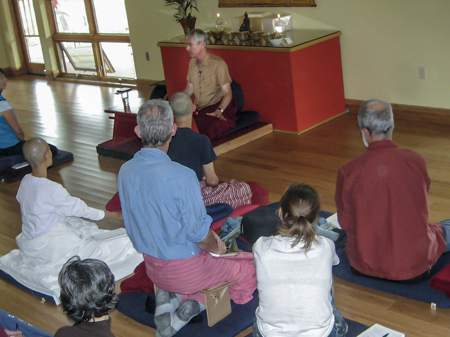 Paying attention to long-term meditation