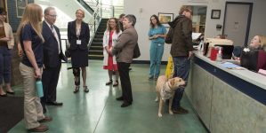 Janet Napolitano visits UC Davis, addresses UC issues