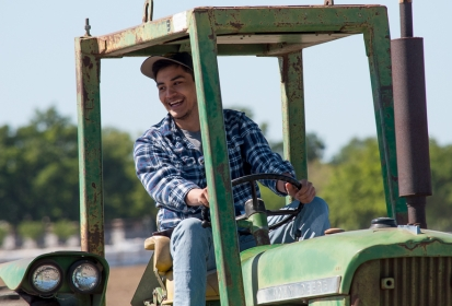 More than tractor driving