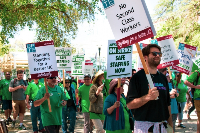 After 17 bargaining sessions with the UC since 2017, UPTE-CWA 9119 will strike
