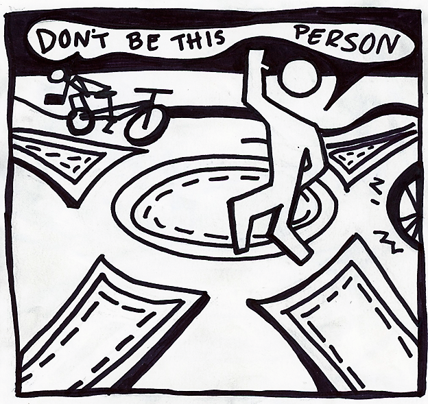 Cartoon: Don't Be This Person