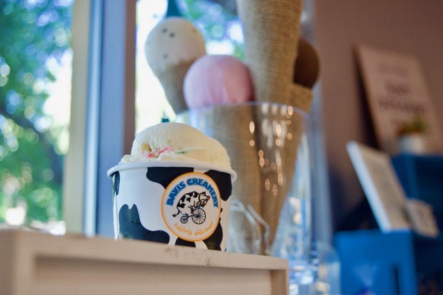Best Dessert: Davis Creamery