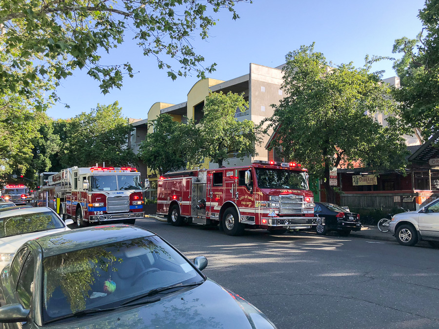 Fire, smoke erupt in downtown Davis: Estimated $80,000 in structural damage