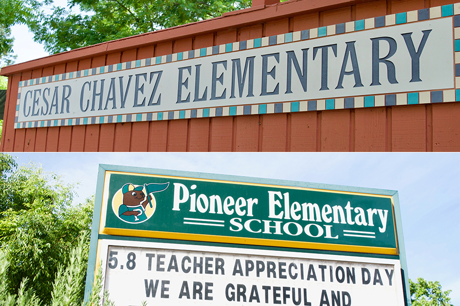 Pioneer, César Chávez elementaries will have new principals this fall