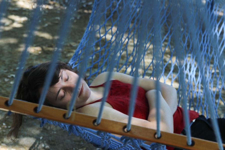 Best Place to Nap: Quad Hammocks