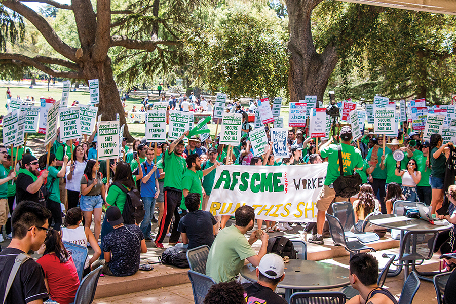 Three-day strike held UC-wide