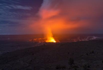 Kilauea Volcano Eruption