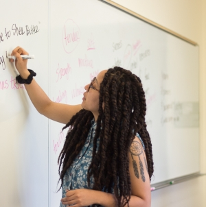 """Radically Tender"" writing workshop led by poet Ariana Brown"