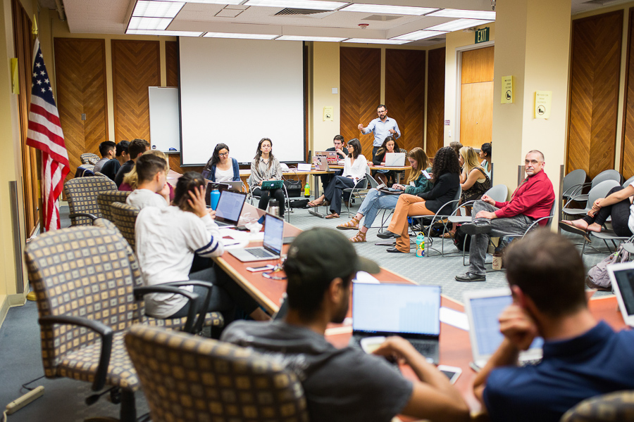 ASUCD holds annual budget hearings for 2018-2019 school year