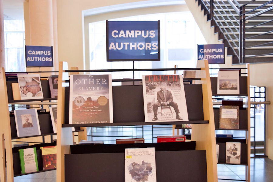UC Davis faculty publications on display