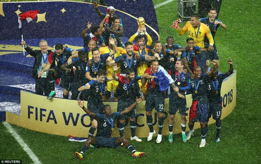 2018 World Cup Final: France vs. Croatia