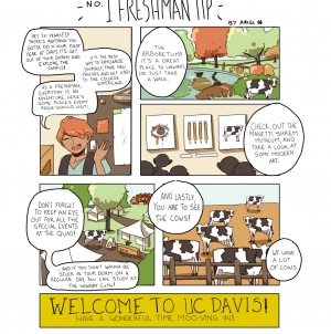 Cartoon: No. 1 Freshman Tip