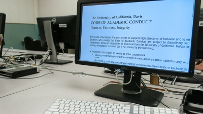 All students required to acknowledge Academic Code of Conduct online