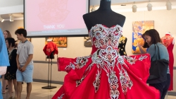 Chinese wedding dress exhibition comes to UC Davis