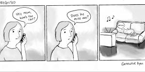 Cartoon: Unrequited