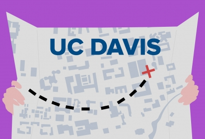 Traversing the UC Davis Campus