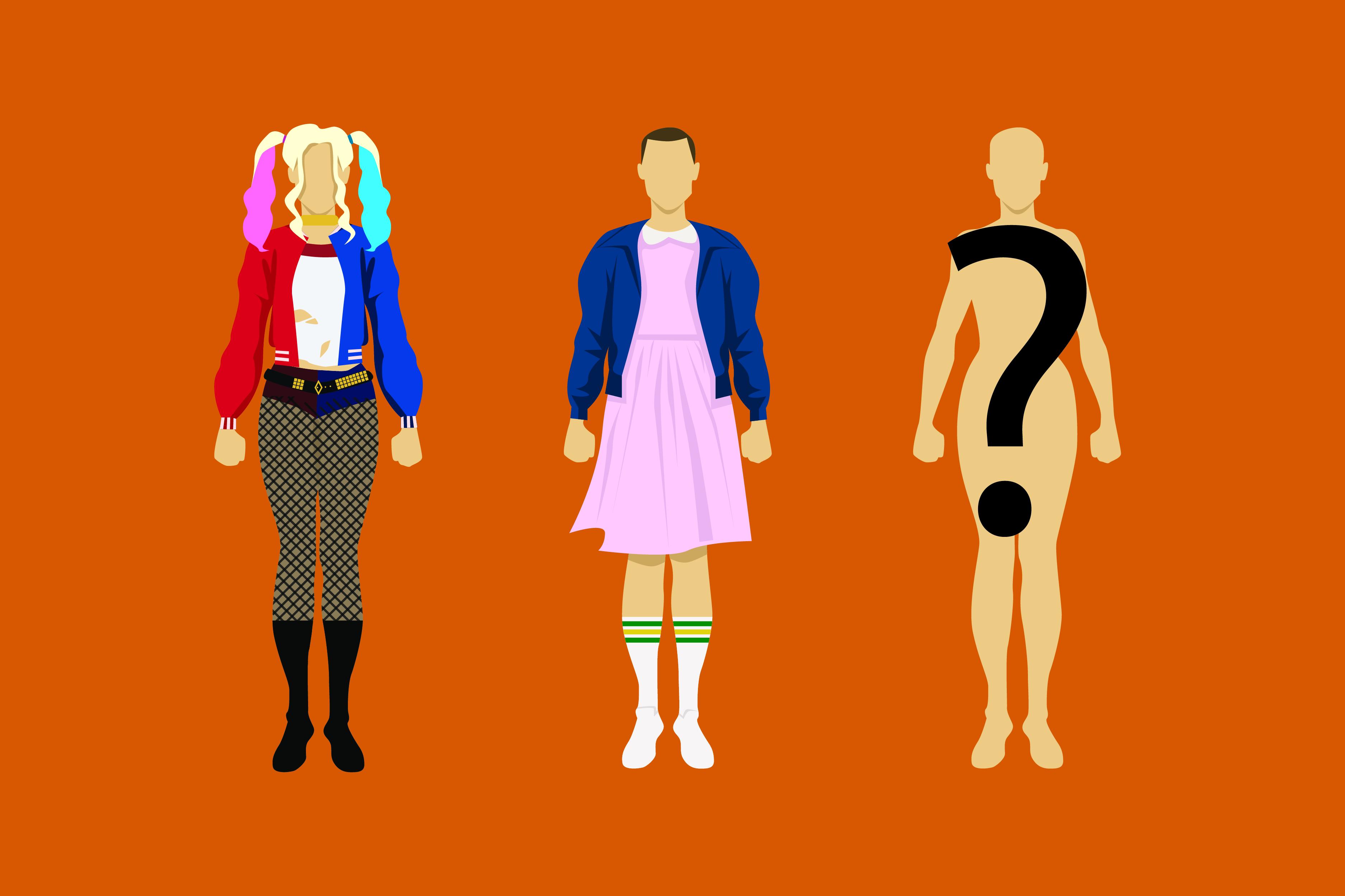 2018's trendy costumes