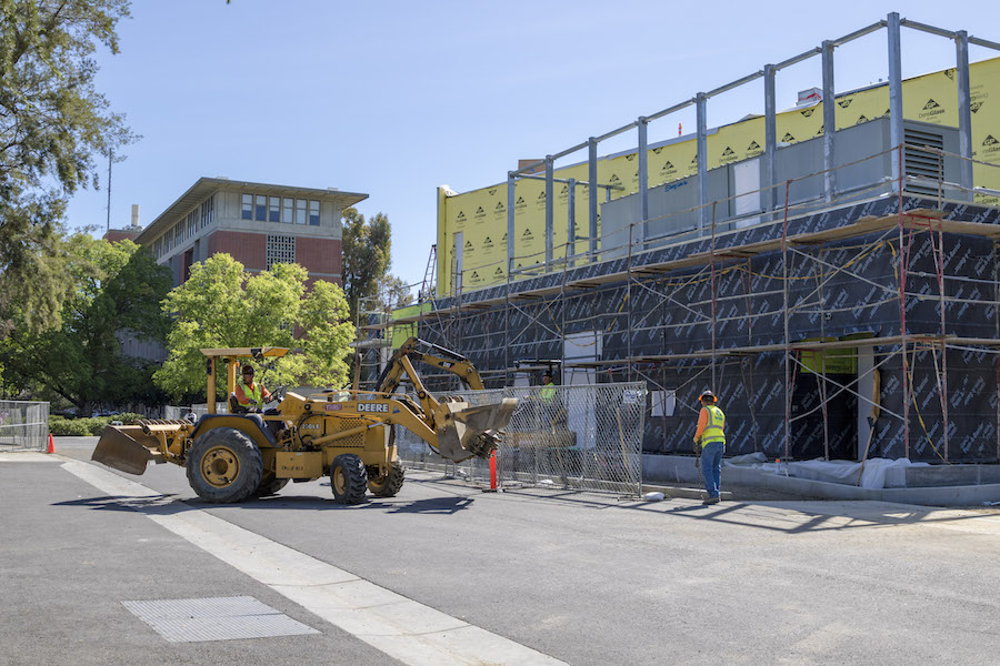 Humor: UC Davis unveils construction-themed aesthetic for entire campus