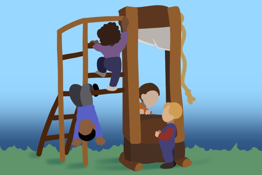 """Humor: Playground installs another """"toy"""" for kids to hurt themselves on"""